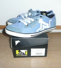 Drunknmunky New England Classic Sky Blue & Black MENS Size 7 Trainers NEW/BOXED
