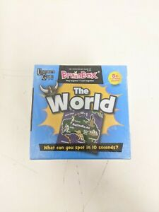 University Games BrainBox Memory Game THE WORLD Edition NEW SEALED Challenge