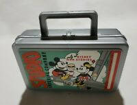 Disney Vintage Mickey & Minnie Mouse Whirley Lunch Box Studio Catering Company