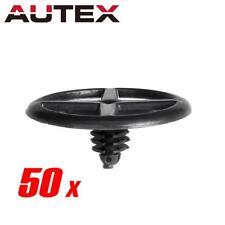 50x Nylon Fastener Rivet Hood Insulation Clip for Nissan Quest (30x10x6.5mm)