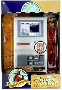 Where In The World Is Carmen Sandiego Retro Handheld Electronic Game