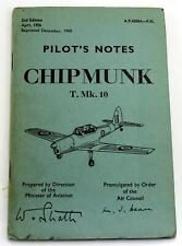 AP4308A-PN Pilots Notes for Chipmunk T Mk 10, second edition