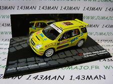 voiture 1/43 IXO Altaya rallye SUZUKI IGNIS S1600 Monte Carlo 2005 Scorcioni #37