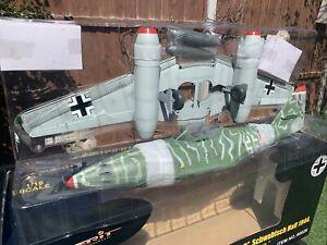21St-Century Toys 1:18 Messerschmitt 262A Red B Luftwaffe Jet Merit