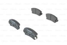 Bremsbelagsatz, Scheibenbremse für Bremsanlage Hinterachse BOSCH 0 986 463 490