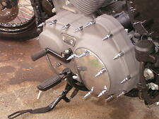 HARLEY XL SPORTSTER CHROME SPIKE ENGINE COVER BOLT KIT 1200 883 pike HD iron
