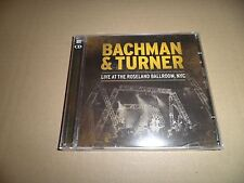 BACHMAN AND TURNER-LIVE AT THE ROSELAND BALLROOM NYC-CD (2) EAGLE ROCK new