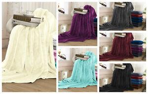 Luxury Flannel Fleece Blanket Extra Soft 100% Lightweight Bed Warm Blankets