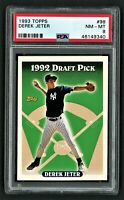 1993 TOPPS DEREK JETER #98 PSA 8 NM-MINT      HOF NEW YORK YANKEES    **ROOKIE**