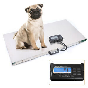 300kg Digital Livestock Vet Scale Hog Pet Dog Sheep Goat Scale Vet Diet Healthy