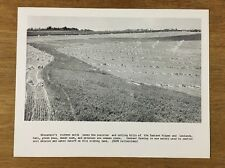 Vintage Wisconsin Historical Society Print Picture Contour Farming Agriculture
