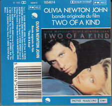 "K 7 AUDIO (TAPE) B.O.F (O.S.T)   ""TWO OF A KIND"" (OLIVIA NEWTON JONES TRAVOLTA)"