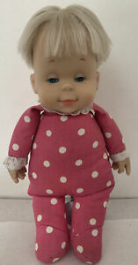"""Mattel Blonde DROWSY Doll Marked 1964 Mattel 15"""" Classic Collection Tested WORKS"""