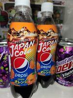 Pepsi Orange Japan Rare Soda USA SELLER