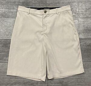 Nike FLEX Dri-Fit Performance Golf Shorts Mens 32 Lt Khaki PERFECT MINT COND!!