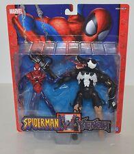 Marvel Spider-Man vs. Venom Figures 2 pack Toy Biz