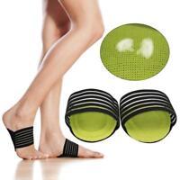 2x Arch Support Shoes Insert Fasciitis Einlegesohlen Plantar Pain Relief Foot