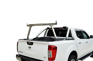 3'' Stainless Steel Ladder Rack for Nissan Navara NP300 D23 15-20 Tub Ute 150kg