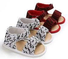Baby Boy Girl Crib Shoes Infant Toddler Summer Sandals Wool Yarn Trainers 0-18 M