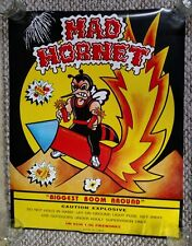 Mad Hornet Fireworks Promo Poster 4th of July Firecracker Promotional