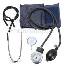 ANEROID Adult Size Blood Pressure BP Cuff Set Sphygmomanometer Stethoscope Kit