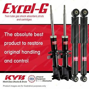 Front + Rear KYB EXCEL-G Shock Absorbers for RENAULT Trafic L1H1 L2H1 FWD Van