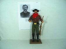 "John King Fisher gunfighter sheriff outlaw custom 12"" figure Old West"