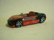 "Hot Wheels Black Mx48 Turbo, ""Handy"", dated 2000 Good Condition (Eb8-7)"