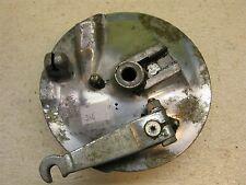 60's yamaha trailmaster 80 front brake plate hub y346~
