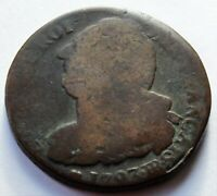 1793 BB France King Louis XVI 2 Sols-bronze French Revolution coin