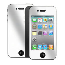 3x TOP QUALITY MIRROR LCD SCREEN PROTECTOR FOR APPLE IPHONE 4S 4 4G GUARD COVER