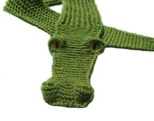 Handmade Alligator Scarf Knitted scarf Crocodile Children's Scarf animal scarf