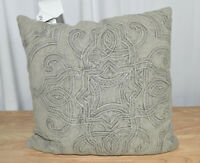 """Better Homes & Gardens Medallion Enzyme Washed Decorative Throw Pillow, 18"""" x 18"""