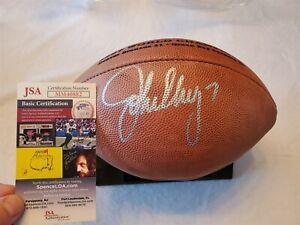 JOHN ELWAY signed Wilson Super Bowl football Game Ball DUKE JSA COA BRONCOS