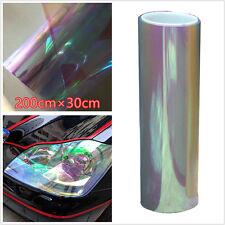 30x200cm Chameleon Colorful Clear Tint Film Headlight Tail light Car Vinyl Wrap