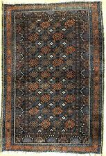 Terrific Tribal - 1920s Antique Persian Rug -Oriental Carpet 3.3 x 4.9