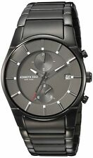Kenneth Cole New York Men's Quartz Stainless Steel Casual Watch, Color:Grey (...