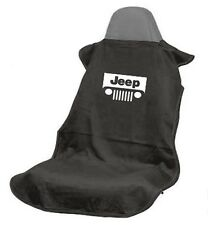 (1) Seat Armour SA100JEPGB Black Seat Cover Towel Protector New Free Shipping