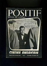 Cinéma revue POSITIF 11/1954 Cinéma américain Dassin Strand Zinnemann...