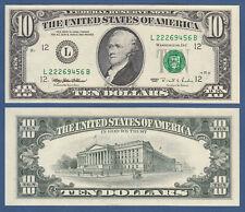 USA 10 Dollars 1995 L  UNC  P. 499