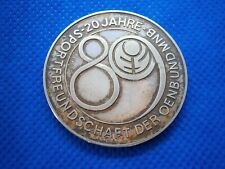 Contact Sport Kapcsolata Mnb 1927 Sportfreundschaft Germany Hungary Medal