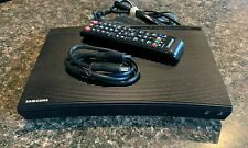 Samsung BDJM51 Curved Front Wired Ethernet Streaming Blu-Ray Player + Remote
