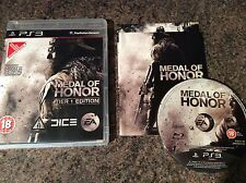 Medal Of Honor Tier 1 Edition Ps3 Game! Complete! Look At My Other Games!