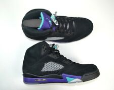 Air Jordan 5 Black Grape Size US 10.5