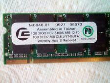 Memoria RAM 1 GB (PC2-6400S-666-12)