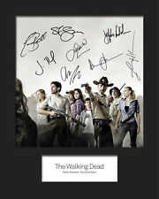 THE WALKING DEAD #2 Signed Photo Print 10x8 Mounted Photo RePrint - FREE DEL