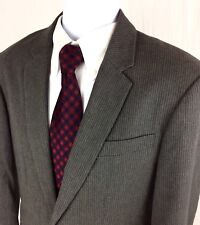 A/X Armani Exchange Men's 40R Gray Striped Casual Blazer Sport Coat Suit Jacket