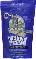 Light Grey Celtic Sea Salt 1 Pound Resealable Bag – Additive-Free, Delicious Sea