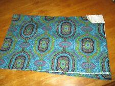 vintage Schwartz Liebman Textiles Fabric 44 w x 108 L TABLECLOTH/ CURTAINS