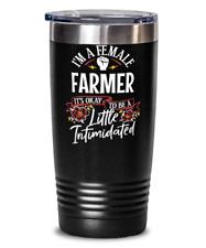Cute Women Empowerment Gift for Female Farmer Coworker Office Present - A Little